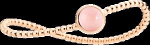 Armband Capolavoro Velluto aus 750 Roségold mit 1 Opal