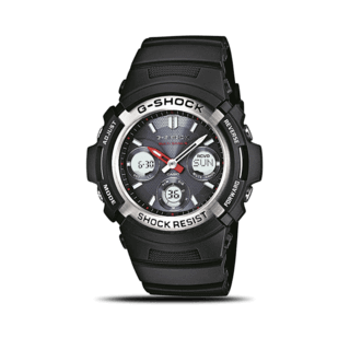 Casio Herrenuhr G-Shock Chrono AWG-M100-1AER