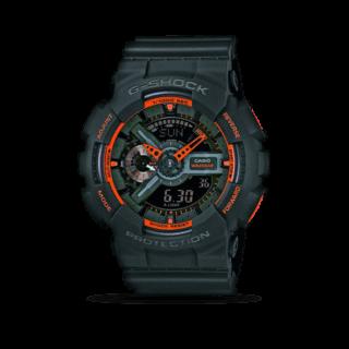 Casio Herrenuhr G-Shock Quarz Chronograph 55 x 51,2mm GA-110TS-1A4ER