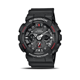 Casio Herrenuhr G-Shock Quarz GA-120-1AER