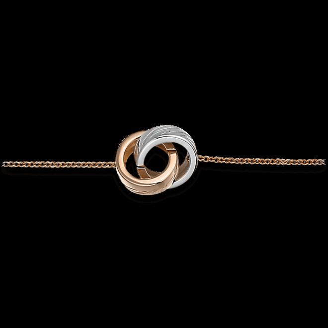 Armband Chopard Chopardissimo aus 750 Roségold und 750 Weißgold