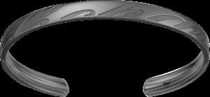 Armreif Chopard Chopardissimo aus 750 Weißgold Größe L