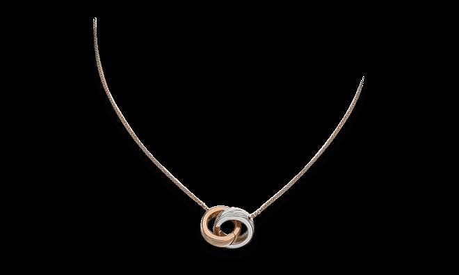 Halskette mit Anhänger Chopard Chopardissimo aus 750 Roségold und 750 Weißgold