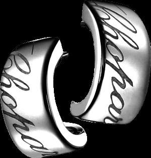 Ohrhänger Chopard Chopardissimo aus 750 Weißgold