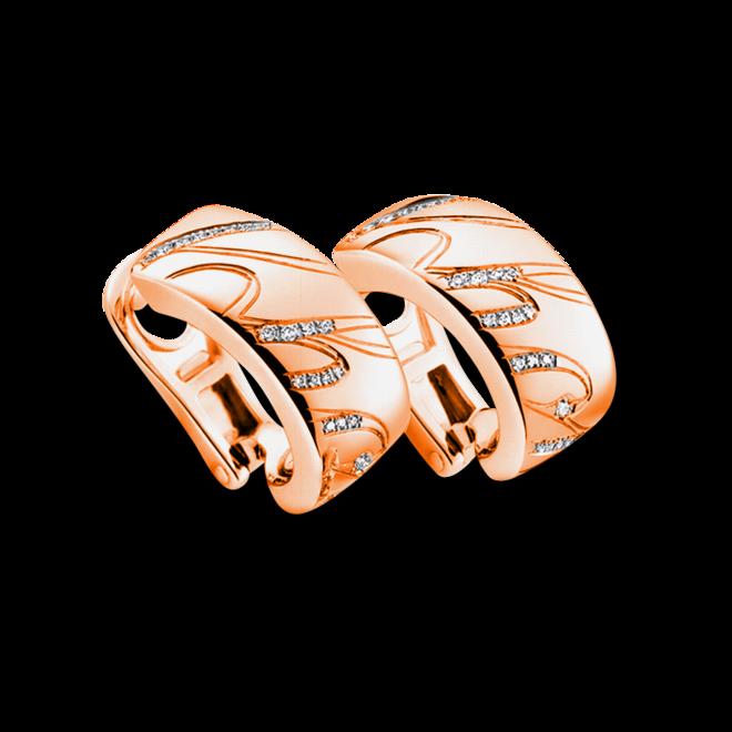 Ohrring Chopard Chopardissimo aus 750 Roségold mit 66 Brillanten (2 x 0,08 Karat) bei Brogle