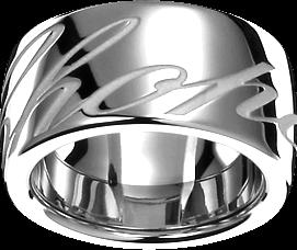 Ring Chopard Chopardissimo aus 750 Weißgold
