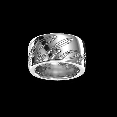 Ring Chopard Chopardissimo aus 750 Weißgold mit 76 Brillanten (0,28 Karat)