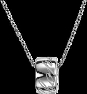 Halskette mit Anhänger Chopard Chopardissimo rund aus 750 Weißgold