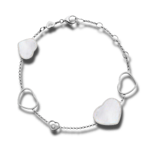 Chopard Armband mit Anhänger Happy Hearts 857482-1031