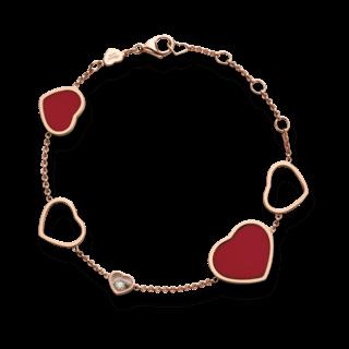 Chopard Armband mit Anhänger Happy Hearts 857482-5081