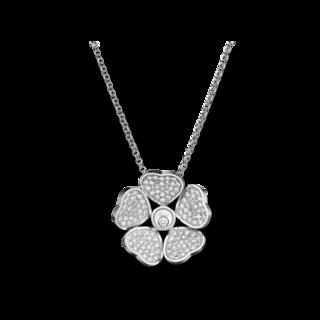 Chopard Halskette mit Anhänger Happy Hearts Flowers 79A085-1901