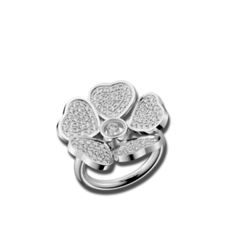Chopard Ring Happy Hearts Flowers 82A085-1900+