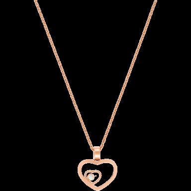 Chopard Halskette mit Anhänger Happy Hearts 797482-5001
