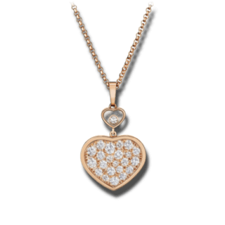 Chopard Halskette mit Anhänger Happy Hearts 797482-5009