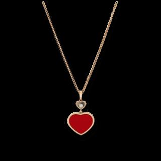 Chopard Halskette mit Anhänger Happy Hearts 797482-5801