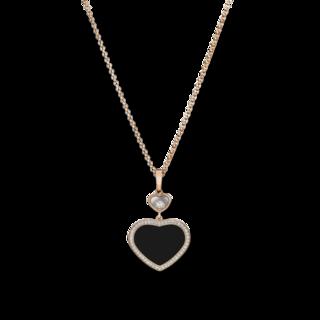 Chopard Halskette mit Anhänger Happy Hearts 79A074-5201