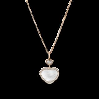 Chopard Halskette mit Anhänger Happy Hearts 79A074-5301
