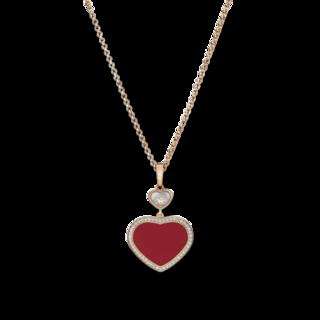 Chopard Halskette mit Anhänger Happy Hearts 79A074-5801