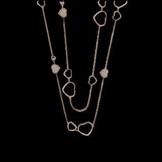 Chopard Halskette mit Anhänger Happy Hearts 817482-5009
