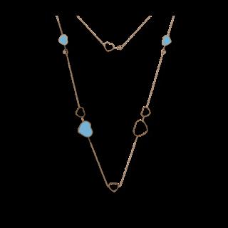 Chopard Halskette mit Anhänger Happy Hearts 817482-5401