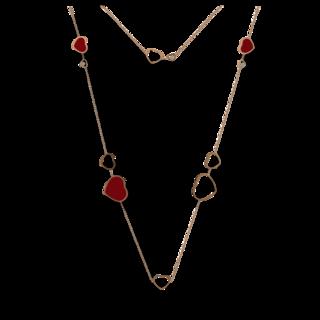 Chopard Halskette mit Anhänger Happy Hearts 817482-5801