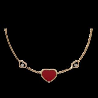 Chopard Halskette mit Anhänger Happy Hearts 81A082-5801