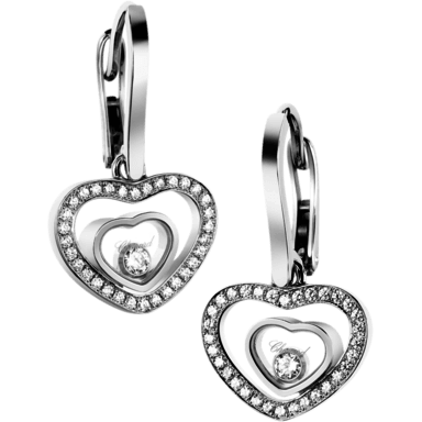 Chopard Ohrhänger Happy Hearts 837482-1002