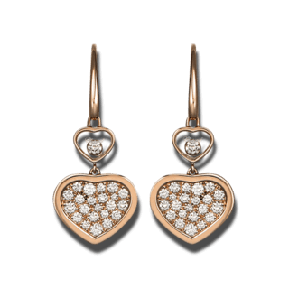 Chopard Ohrhänger Happy Hearts 837482-5009