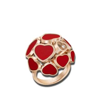 Chopard Ring Happy Hearts 827482-5800+