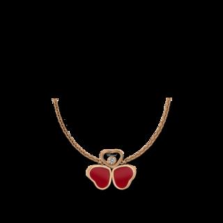 Chopard Halskette mit Anhänger Happy Hearts Wings 81A083-5811