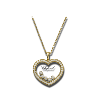 Chopard Halskette mit Anhänger Icons Heart 79A039-0201
