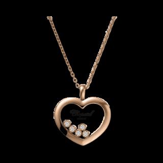Chopard Halskette mit Anhänger Icons Heart 79A039-5001