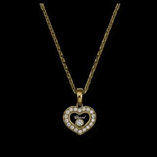 Chopard Halskette mit Anhänger Icons Heart 79A054-0201
