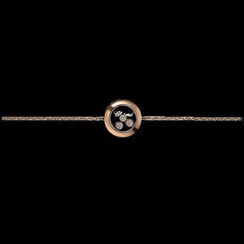 Armband Chopard Icons Round aus 750 Roségold mit 3 Brillanten (0,15 Karat)