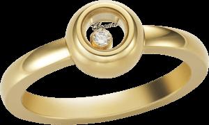 Ring Chopard Miss Happy aus 750 Gelbgold mit 1 Brillant (0,03 Karat)