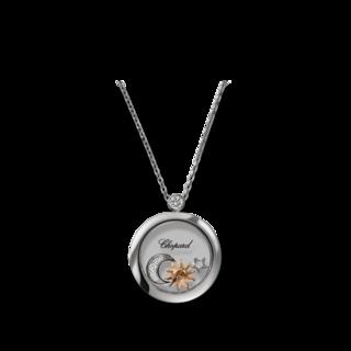 Chopard Halskette mit Anhänger Sonne, Mond und Sterne 799434-1201