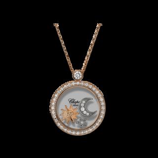 Chopard Halskette mit Anhänger Sonne, Mond und Sterne 799434-5401