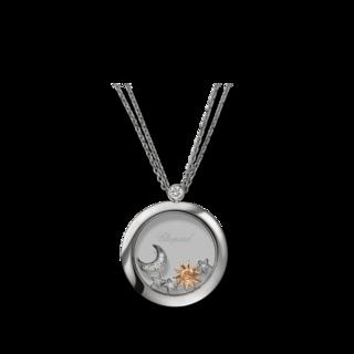 Chopard Halskette mit Anhänger Sonne, Mond und Sterne 799450-1201