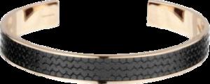 Armreif Chopard Classic Racing aus Kautschuk und PVD-Beschichtung auf Edelstahl Größe M