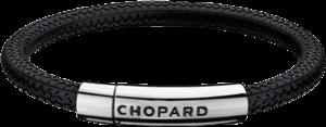 Armband Chopard Mille Miglia aus Kautschuk und beschichteter Edelstahl Größe S