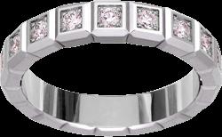 Ring Chopard Pure Medium aus 750 Weißgold mit 16 Diamanten (0,62 Karat)