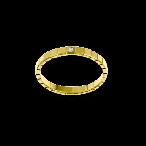 Ring Chopard Pure Mini aus 750 Gelbgold mit 1 Diamant (0,01 Karat)