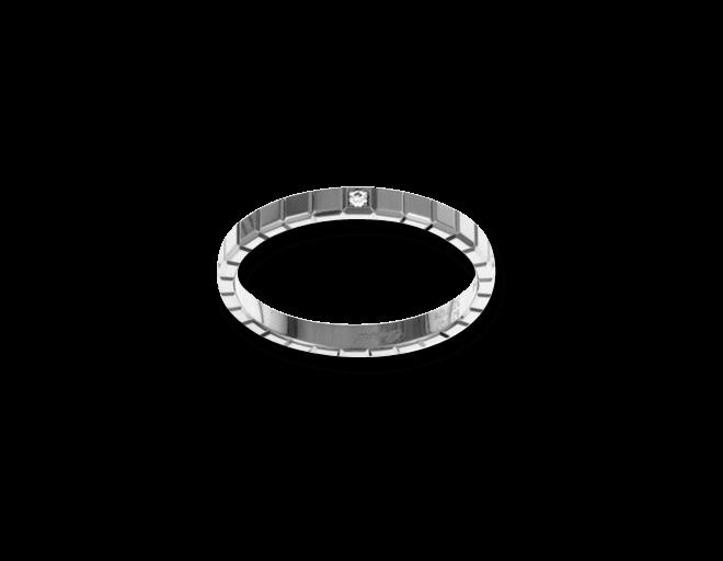 Ring Chopard Pure Mini aus 750 Weißgold mit 1 Diamant (0,01 Karat) bei Brogle