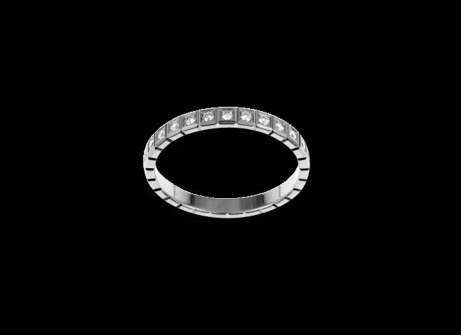 Ring Chopard Pure Mini aus 750 Weißgold mit 25 Diamanten (0,24 Karat) bei Brogle