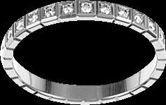 Ring Chopard Ice Cube aus 950 Platin mit 11 Brillanten (0,11 Karat)