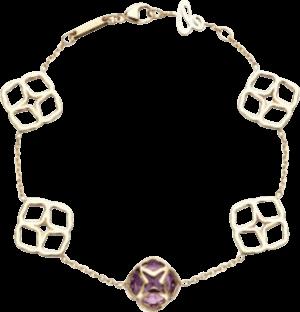 Armband Chopard Cocktail Jewellery aus 750 Roségold mit 1 Amethyst