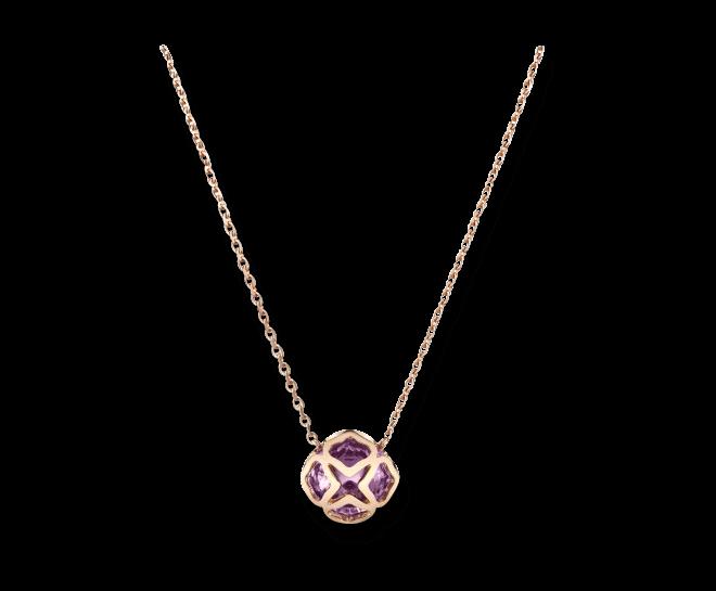Halskette mit Anhänger Chopard Cocktail Jewellery aus 750 Roségold mit 1 Amethyst bei Brogle