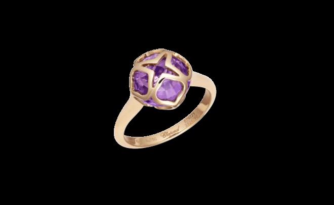 Ring Chopard Cocktail Jewellery aus 750 Roségold mit 1 Amethyst bei Brogle