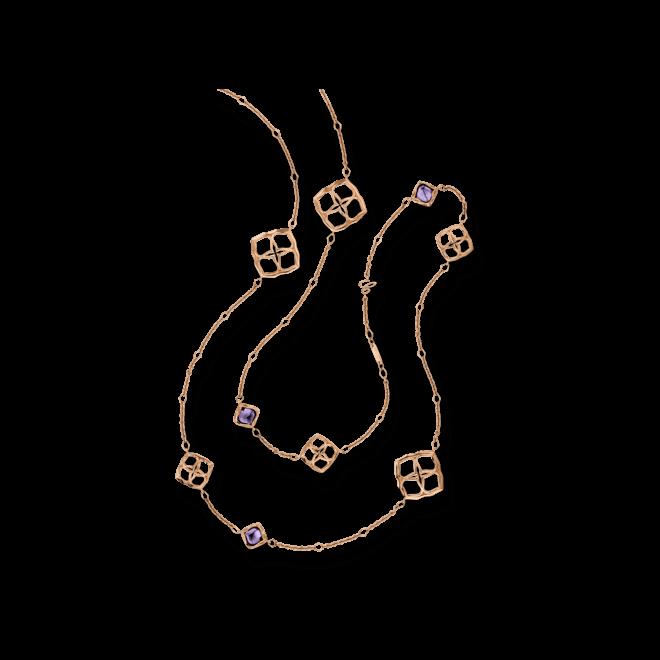 Halskette Chopard Lace Jewellery aus 750 Roségold mit 10 Amethysten bei Brogle