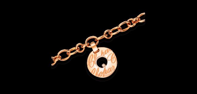 Armband mit Anhänger Chopard Chopardissimo aus 750 Roségold mit 1 Brillant (0,03 Karat)
